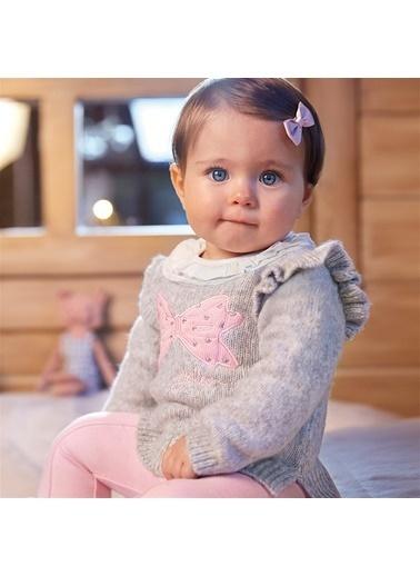 Mayoral Mayoral Kız Bebek Kazak Gri